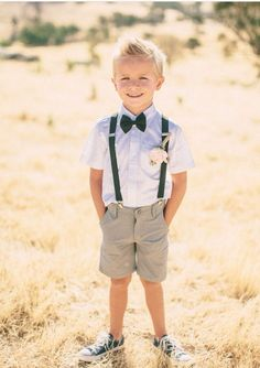 Bearer OutfitRing Bearer Outfit Swap with Boy's Linen Amalfi Shirt and Boys Maui Shorts for a beach wedding! More Ring Bearer Outfit Classic Ideas Perfect page boys! J Crew kids formal wear available for hire. Wedding Outfit For Boys, Wedding With Kids, Wedding Attire, Summer Wedding, Dream Wedding, Wedding Ring, Wedding Page Boys, Tent Wedding, Casual Wedding