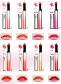 Best Matte Lipstick, Gloss Lipstick, Lipstick Colors, Lip Colors, Lipsticks, Makeup Geek, Beauty Makeup, Powder Lipstick, Lots Of Makeup