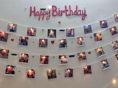 Husband Birthday Decorations, Happy Birthday Decor, Birthday Balloon Decorations, Anniversary Decorations, Birthday Parties, Birthday Surprise For Husband, Birthday Gifts For Husband, Birthday Surprise Ideas, Birthday Surprises For Him