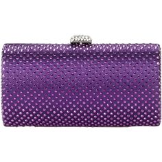 Magid 6687 Clutch,Purple,One Size (44 CAD) ❤ liked on Polyvore featuring bags, handbags, clutches, purses, handbag purse, magid purse, man bag, handbags clutches and hand bags