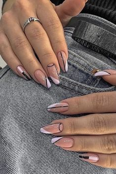 Classy Acrylic Nails, Bling Acrylic Nails, Best Acrylic Nails, Acrylic Spring Nails, Cute Spring Nails, Spring Nail Art, Acrylic Nail Art, Gel Nail Art, Nail Design Glitter