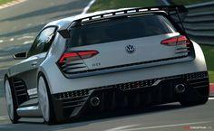 Volkswagen Unveils 'GTI Supersport' Vision Gran Turismo Concept
