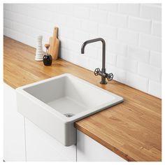 IKEA - HAVSEN Apron front sink white
