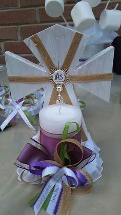 20 Trendy Baby Boy Baptism Ideas Decoration First Communion Communion Centerpieces, First Communion Decorations, First Communion Favors, Baptism Decorations, First Holy Communion, Faith Crafts, Baby Boy Baptism, Baptism Ideas, Trendy Baby