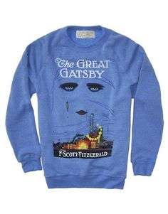 The Great Gatsby Top from Out of Print Clothing. For each product sold, one book is donated to a community in need. LOVE