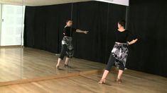 Técnica de baile flamenco: nivel básico: Cambio de peso con piernas y brazos