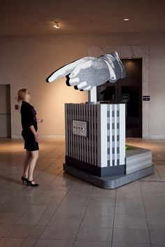 Hand shiny pointing visitor - peppe land inspiration
