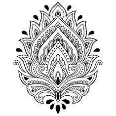 Dibujo de henna