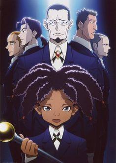 Tags: Anime, MADHOUSE, Hunter x Hunter, Gotoh (Hunter x Hunter), Canary, Dreadlocks, Butler