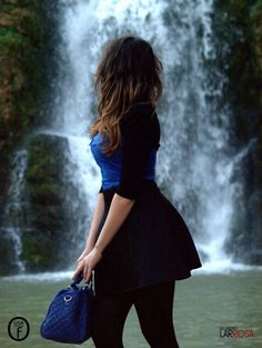 Blue Klein and Black | One Use Fashion