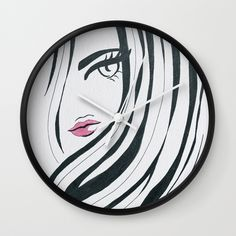 Buy Girl Power Black and White Wall Clock by lorimoro. Worldwide shipping available at Society6.com. Just one of millions of high quality products available.
