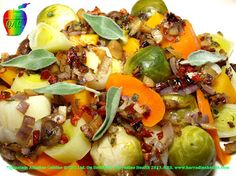 Alkaline Diet Recipes, Steamed  Winter Vegetable Medley