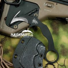 The Galaxy II Neck Knife Karambit is in stock now! Check it out on the site!  http://www.karambit.com/shop/custom-karambits/custom-fixed-karambits/galaxy-ii-neck-knife-karambit/