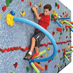 Physical Education Climbing and Walls - 18757 - Traverse Wall Challenge Course