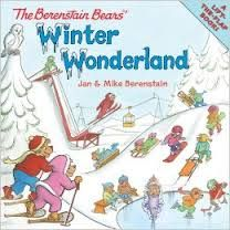 Found this wonderful book in our class library. It was great for the theme we were working on.  The Berentain Bears Winter Wonderland, By Jan and Mike Berenstain. They have  lots of fun in the snow, but what brother really wants to do, is have a snow ball fight.