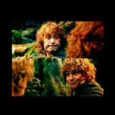 Merry and Pippin (Yeah, my best friend and I make these same faces at each other, too!!)