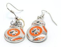 Par de brincos Star Wars BB-8. Que a força esteja com você!