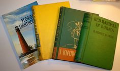 4 Vintage Book Covers Recycled Altered Art Journal by jammatun, $9.99