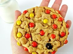 Soft Peanut Butter Oatmeal Cookies -