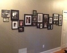 Hanging Photos, Genealogy, Family Photos, Photo Wall, Gallery Wall, Scrapbooking, Frame, Design, Home Decor