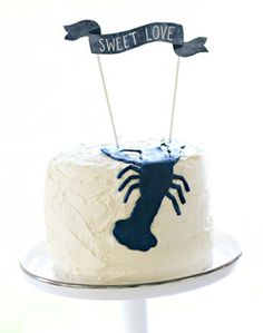 heres your blueberries And lobsters Two Fat Cats Bakery in