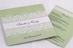 Elegant wedding invitations that combine simple, chic designs with a luxury finish!
