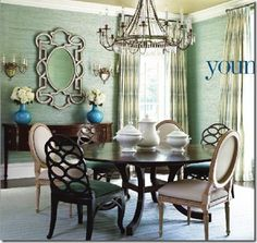 Things That Inspire: Blue and green should not be seen without a colour in between