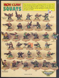 This page is part of the Stuff of Legends, a site dedicated to Science Fiction and Fantasy Gaming Miniatures Game Workshop, Squats, Science Fiction, Fantasy, Gw, Games, World, Miniatures, Sci Fi