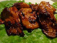 ΜΑΓΕΙΡΙΚΗ ΚΑΙ ΣΥΝΤΑΓΕΣ: Mανιτάρια Πλευρώτους καραμελωμένα!!! Chicken Wings, Food And Drink, Vegan, Gatos, Buffalo Wings