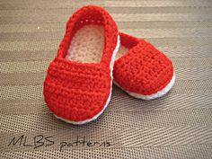 Crochet pattern baby shoes crochet booties by MyLittleBabyShoes