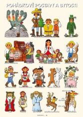 Tematický obraz: Tema Pohádkové postavy a bytosti Montessori, Fairy Tales, Decoupage, Diy And Crafts, Preschool, Activities, Education, Comics, Children