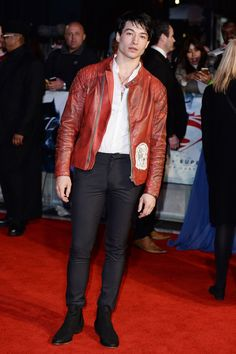 On Monday, Miller made an appearance at the European premiere of Batman v Superman in London, looking like a changed man. | Ezra Miller Has Transformed And Is Now Unrecognizably Buff
