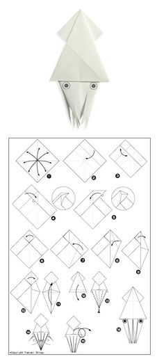 simple origami instructions  u2013 how to fold a crab