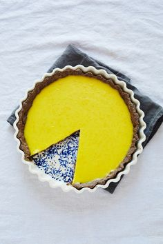 Recipe: A sweet lemon tart with a gluten-free crust that's great for entertaining.