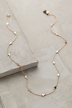 Ophelia Rose Gold Necklace - anthropologie.com #anthrofave