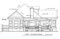 Craftsman Exterior - Other Elevation Plan #140-133 - Houseplans.com