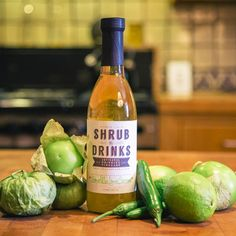 Shrub Drinks shrubs, $15 (Made in San Antonio, Texas) #madeinusa #madeinamerica