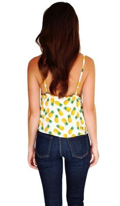 Sammy Crop Top by JILLIAN HARRIS for Privilege | #JHforPriv