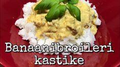 Banaanibroileri kastike - YouTube Helppo ruokaohje! Grains, Rice, Youtube, Food, Essen, Meals, Seeds, Youtubers, Yemek