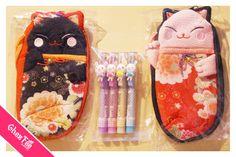 Une autre commande super kawaii!~~  ps. Les trousses de maneki neko et les stylos kawaii avec lapin seront bientôt en rupture de stock ENCORE! (>o<)  - www.chezfee.com