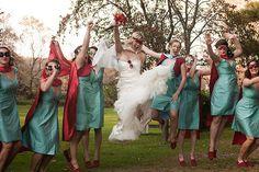 Vintage Superhero Wedding - Offbeat Bride Part of the superhero wedding Batman Wedding, Geek Wedding, Dream Wedding, Wedding Day, Wedding Superhero, Marvel Wedding, Superhero Capes, Wedding Pins, Post Wedding