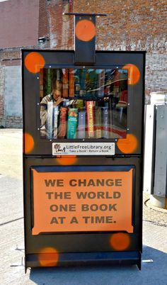 No library card is required at Little Free Library