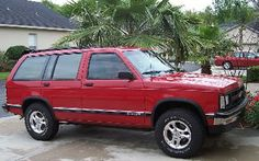 1991 Chevy S10 Blazer - our 1st SUV - the perfect car for our lifestyle