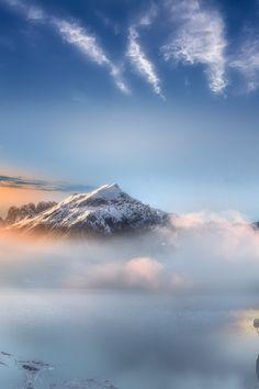 Wave by Maurizio Fecchio. #mountain #mist