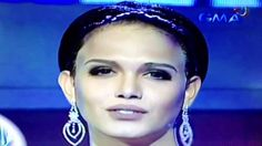 Paolo Ballesteros as Megan Yan in Miss Top of the World at Eat Bulaga. Paolo Ballesteros, Eat Bulaga, Colored Contacts, Top Of The World, Big Star, Miley Cyrus, Beyonce, Hollywood, King