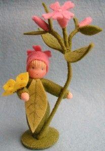 Atelier Pippilotta :: Bloemenkinderen Pakketten :: Bloemenkind dagkoekoeksbloem