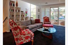 Yarra Boulevard, Richmond www.keypiece.com.au #openplan #kitchen #livingroom #interior #design #interiordesign #white #entertainment #sofa #coffee #coffeetable