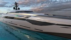 Superyacht Project Zephyr Is a Futuristic Piece of Technology with a Huge Personality