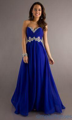 Sapphire Blue Prom Dresses - RP Dress
