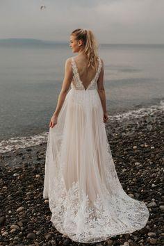 Boho Bride, Boho Wedding Dress, Wedding Gowns, Wedding Venues, Mamma Mia Wedding, Desiree Hartsock, Whimsical Wedding, Dream Wedding, Forest Wedding